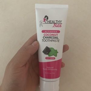 Bella all natural toothpaste